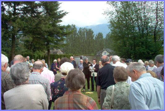 Mennonite Historical Society, Memorial Cemetery Tour, Yarrow Cemetery