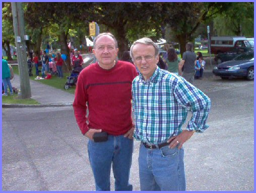 Elmer Wiens and Otto Baerg ( June 4, 2005)