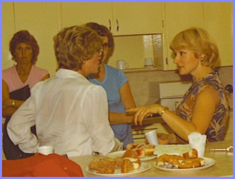 Yarrow Junior High School Reunion 1982 - Eleanor Friesen, Marlene Rempel