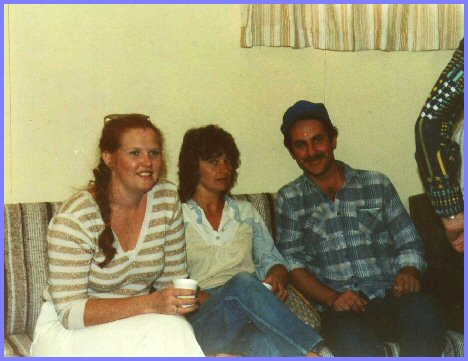 Yarrow Junior High School Reunion 1982 - Pat Gillis, Luella Martens, Walter Teichgrab