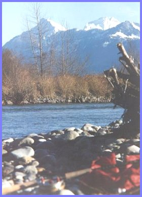 Vedder River - Cheam Mountain View