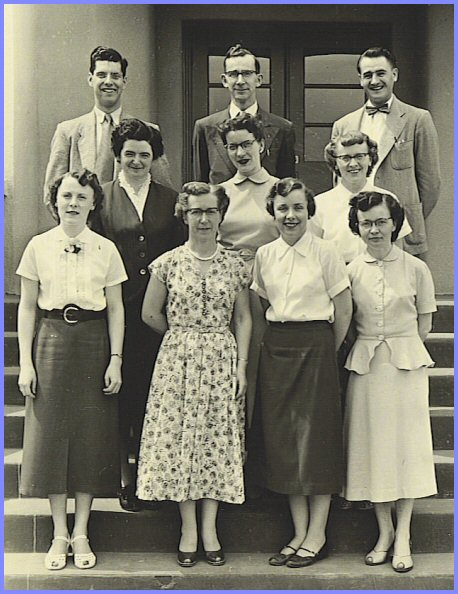 Yarrow School Teachers, 1953-54