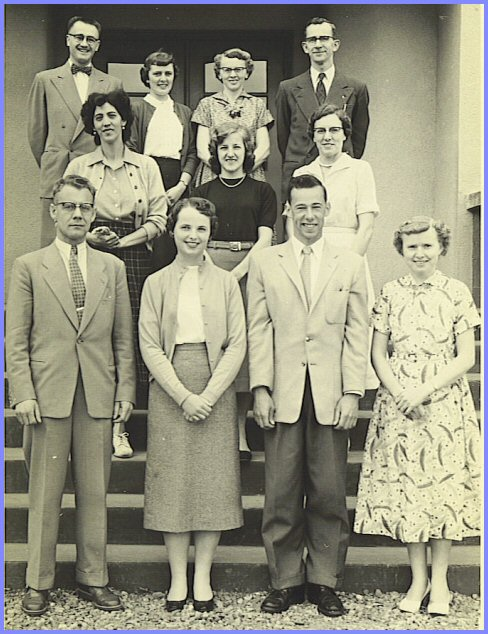 Yarrow School Teachers, 1956-57