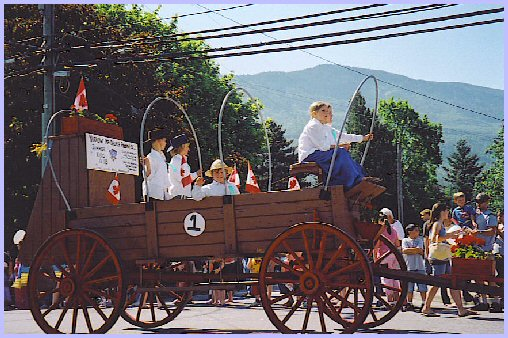 Yarrow Days, June 2, 2007 - Parade, Central Road